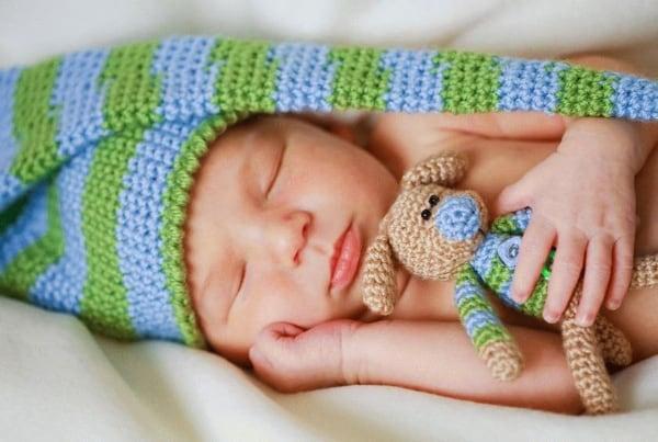 Сон новорожденного как залог спокойного и продуктивного дня